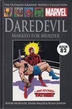 "MARVEL ULTIMATE GRAPHIC NOVEL COLL #82 ""MARKED FOR MURDER"" HC"