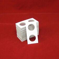100 Cardboard 2x2 Coin Holder Mylar Flips for Half Dollars