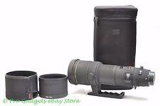 Sigma EX 500 mm F/4.5 APO HSM DG Objectif Canon-Garantie de 6 mois