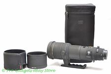 Sigma EX 500mm F/4.5 APO HSM DG Lens Canon - 6 Month Warranty