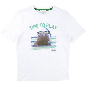 Hugo Boss T-Shirt Time to play Größe 152/12 Jahre NEU 45,00 €