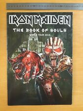 Iron Maiden 2016 The Book Of Souls World Tour Poster