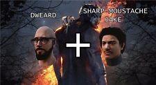 Dead By Daylight: Dweard Dwight + Sharp Moustache Jake key