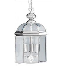 Classic Hanging Ceiling Lantern In Polished Chrome Finish 5133CC