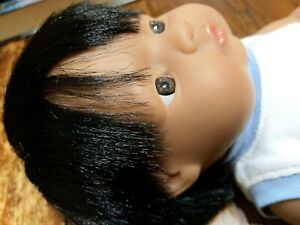 MINILAND Black African BABY Boy DOLL + CLOTHES MadeIN SPAIN Anatomically Correct