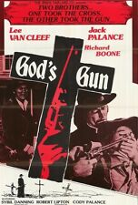 God's Gun 1976 Widescreen Lee Van Cleef, Jack Palance Western DVD