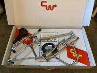 old school bmx CW racing Phaze 1 limited edition 2020 chrome LAST ONE!!