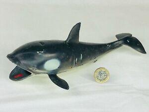 Killer Blue Whale Fish Toy Animal Cute Wildlife Zoo Figure Make Believe b