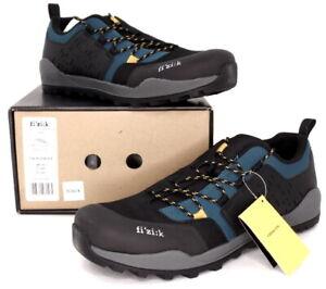 Fizik Ergolace X2 Mountain Bike SPD Shoes, Blue/Black, US 12 / EU 46