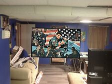 HUGE! 44x29 TOP GUN vinyl banner POSTER movie film tom cruise Blue Angels art 1