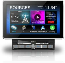 "Jensen CAR1000 10.1"" Mechless CarPlay Android Auto Media Receiver w/ Bluetooth"