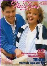 ▬► NOUS DEUX 1991 Michèle Morgan_Sylvester Stallone_Bibie