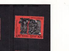 paire martyrs de la résistance   1993  num: 2813/14  oblitéré /1