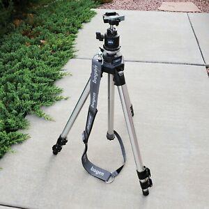Manfrotto Bogen 3021 Tripod + 3262QR Ball Head ☆ Professional Camera Mount
