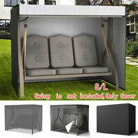 3 Seater Swing Yard Seat Chair Hammock UV-Cover Waterproof Garden Porch Patio