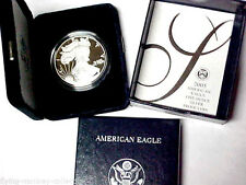 Gem Proof 2005-W American Eagle Silver Dollar 1 oz .999 Silver With Box and COA