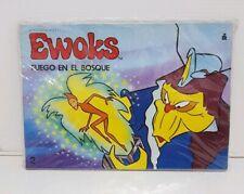 Cuento Troquelado Star Wars Ewoks N°2 Fuego en el bosque Ed Roma Made in Spain