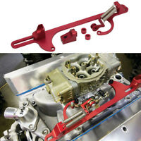 Throttle Cable Carb Bracket Replacement For Holley Carb 4150 / 4160 Series Red
