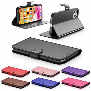 Case For iPhone 13 11 8 7 6 Plus Pro Max Mini XR SE 2 Leather Flip Wallet Cover