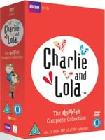Nuovo Charlie And Lola - The Absolutely Collezione Completa Cofanetto DVD