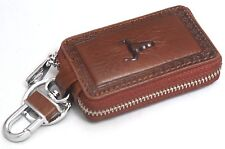 Universal Car Smart Key Chain Leather Holder Cover Case Purse Bag Fob Remote-605