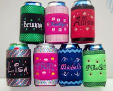 Design your own PERSONALIZED Koozie  Cover WITH Swarovski BLING!!!