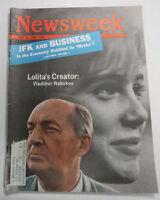 Newsweek Magazine Lolita's Creator Vladimir Nabokov June 25, 1962 100316R2