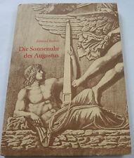 Buch : Die Sonnenuhr des Augustus - Edmund Buchner 1982 Philipp von Zabern TOP