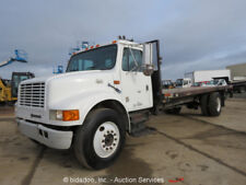 2000 International 4700 20' S/A Flatbed Truck 7.6L Diesel A/T Lift Gate bidadoo