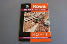 X331 RöWA Train catalogue Ho TT 1972 73 64 p Deutsch katalog modelleisenbahnen