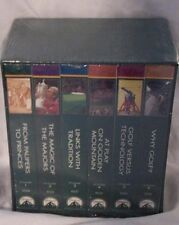 Golf & All Its Glory 6 VHS  Tapes