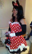 mouse CORSET fancy dress costume, wonder minni skirt