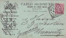 * MILANO - Pubblicitaria Cucine Sigismund 1900