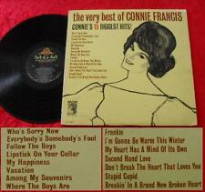 LP The Very Best Of Connie Francis - Connie's 15 Biggest Hits (USA 1964)