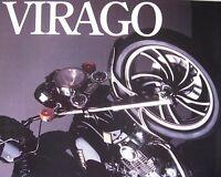 Yamaha Virago 750 Motorcycle Brochure, Original
