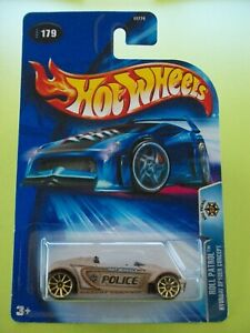 Hot Wheels 2004 Roll Patrol HYUNDAI SPYDER CONCEPT (Brown) #179 New In Packet