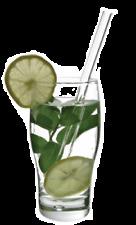 Glass Drinking Straw (8-inch) Elegant and Eco-Friendly