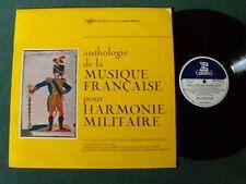 Anthologie musique française HARMONIE MILITAIRE VOL 1 - LP 33T ERATO STU 70259