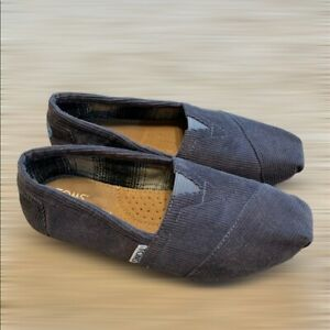 Toms Slip On Shoes Youth Girls Size 5
