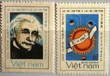 VIETNAM 1979 1018-19 100th Geb. Birth Ann Albert Einstein Physiker Physician MNH