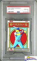1993 Topps Finest Baseball Factory Sealed Foil HOBBY Pack PSA 10 GEM MINT