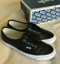 Vans Vault Og Authentic Lx Black White Leather M 10