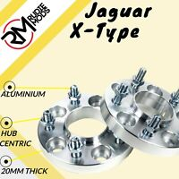 Jaguar X-Type 5x108 20mm Hubcentric wheel spacers 1 pair uk made