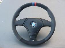 Lederlenkrad BMW E46 mit Airbag NEU LEDERRBEZUG mit ALCANTARA!!!