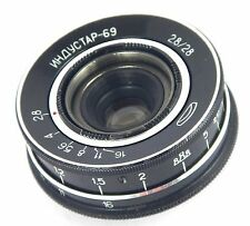 Lens INDUSTAR 69 2.8/28mm Wide Angle USSR for CHAIKA M39 very good condition