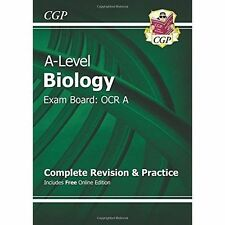 New A-Level Biology: OCR A Year 1 & 2 Complete Revision & Practice with...