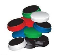 Confezione di 10 qualità 25 mm Assortiti Colorati Magneti a Secco Panno Frigo Lavagna utilizzare