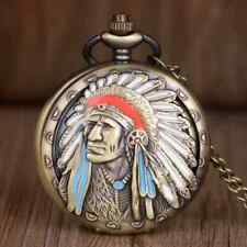 Color Accents! What'S In Your Pocket? Bronze Indian Head Pocket Watch With