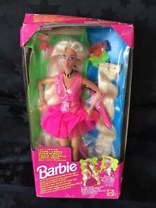 Barbie 1994 Doll - Cut And Style - Barbie, New In Damaged Box