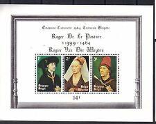 Belgium 1964 Rogier van der Weyden Paintings: Philip the Good Mnh S/S Sc # B762